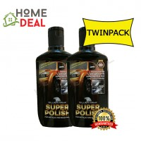 SILVERHAWK SUPER POLISH 200G TWIN PACK (SILVERHAWK车擦亮剂200G双套)